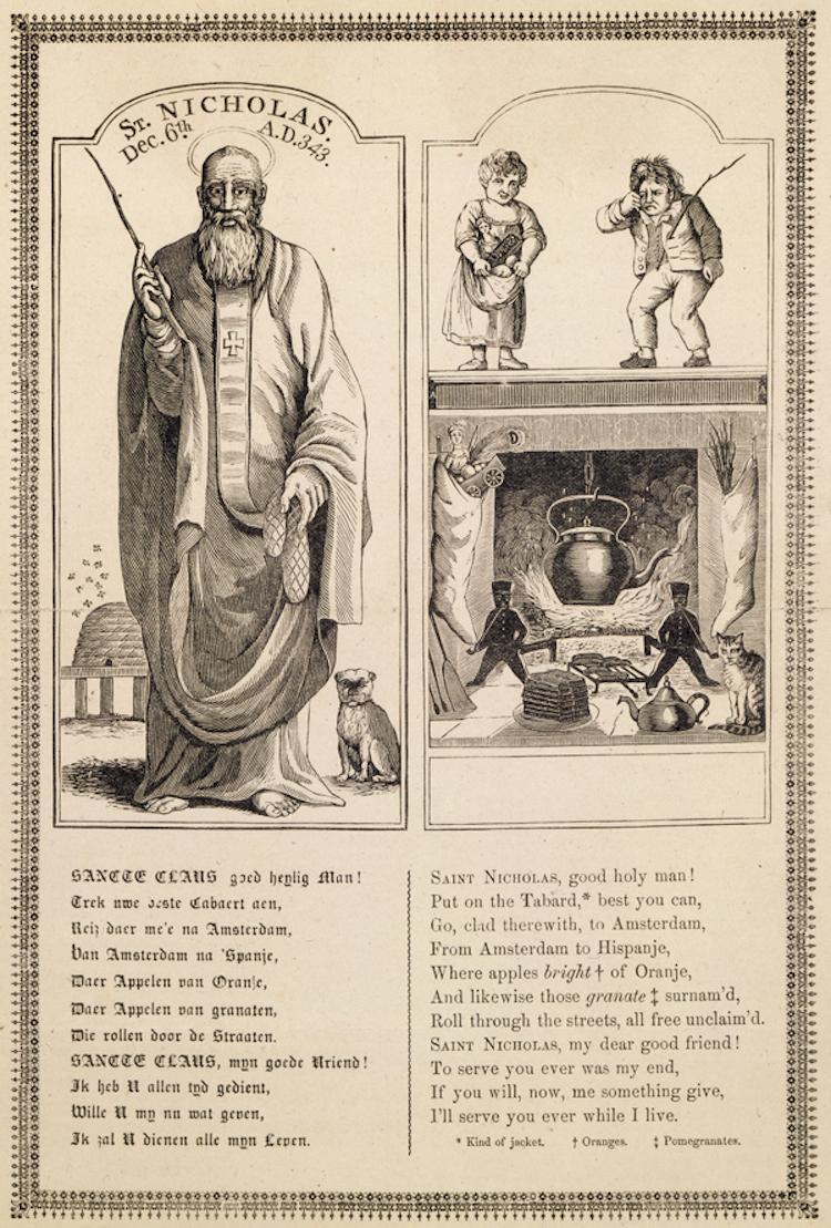 St. Nicholas. Dec. 6th. A.D. 343